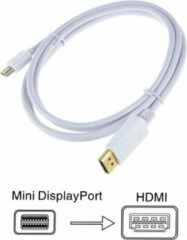 Witte DrPhone (Thunderbolt) Mini Displayport-naar- HDMI Adapter Kabel