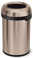 Simplehuman Afvalemmer Bullet Open Top Can 115 liter (Rose Gold)