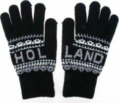 Robin Ruth Handschoenen Mannen Holland zwart-wit