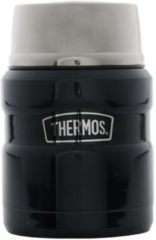 Donkerblauwe Thermos King Voedseldrager - 450 ml - Blauw