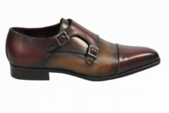 Bordeauxrode MioTinto Herenschoenen gesp schoenen bordeaux
