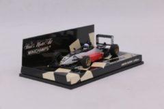 Dallara Mugen Honda F301 A. Davidson Runner-Up British F3 Championship 2001 1:43 Minichamps Wit / Zwart / Rood 400 010305