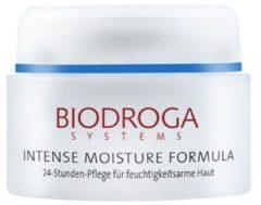 Biodroga Gesichtspflege Intense Moisture Formula 24h Pflege für feuchtigkeitsarme Haut 50 ml
