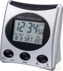 Proficell/Technoline WT221 Zilver Radio Controlled Klok