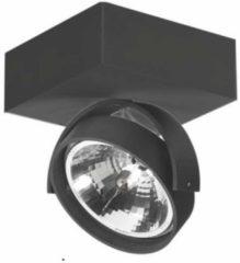 Artdelight - Plafondlamp Dutchess 1L Square - Zwart - LED 15W 2200K-3000K - IP20 - Dim To Warm