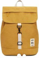 Gele Lefrik Scout Mini Rugzak - Eco Friendly - Recycled Materiaal - Mustard
