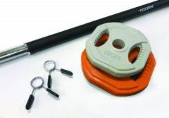 Toorx Fitness Toorx Aerobic Pump - 10 kg - oranje/grijs