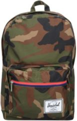 Pop Quiz 17 I Backpack Rucksack 45 cm Laptopfach Herschel woodland camo multi zip