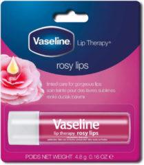 Roze Vaseline Rosy lippenstift Neutraal Glans 4 g