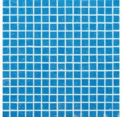 Mozaiek tegel Deco Luce Donatello 32x32cm Azuurblauw