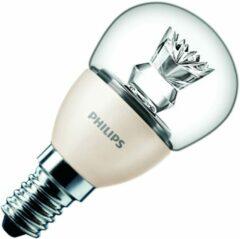 LED-lamp E14 Kogel 6 W = 40 W Warmwit (Ã x l) 48 mm x 95 mm Energielabel: A+ Philips Lighting Dimbaar (dimtone) 1 stuks