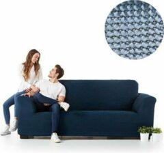 Lichtblauwe MeubelVisie Milos meubelhoezen - Hoes voor bank 240-290cm - Licht blauw - Verkrijgbaar in verschillende kleuren!
