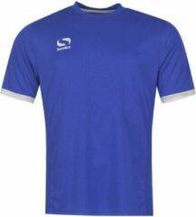 Blauwe Sondico Voetbalshirt korte mouw - Heren - Royal/White - S