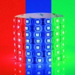 Blauwe Groenovatie RGB LED Strip, 5 Meter, 14.4 Watt/meter, 5050 LED's, Waterdicht IP65