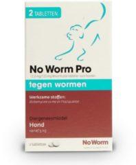 No Worm Tabletten No worm Pro Hond - Wormenmiddel - 2stuks