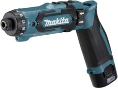 Makita DF012DSE Accuknikschroefmachine 7.2 V 1.5 Ah Li-ion Incl. 2 accus, Incl. koffer