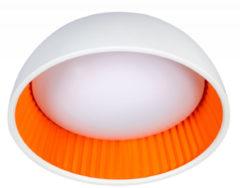 Expo Trading ETH Plafonnière Ringo LED Ø 49 cm | Wit/Oranje