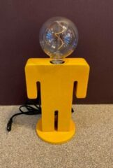 ETH Expo ETH - Tafellamp - Nachtlamp Family Adam - velours - mosterdgeel