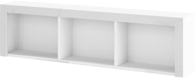 Afbeelding van Hubertus Meble Hangkast Impresja 150 cm breed in hoogglans wit