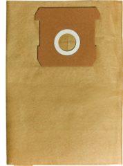 Einhell Stofzuigerzakken 12 L - Aantal: 5 stuks - Geschikt voor TC-VC 1812 S, TH-VC 1815 & Nat-/Droogzuigers met een ketelinhoud van 12/15 L