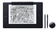 Intuos Pro Paper Edition L, Grafiktablett + Wacom Bamboo Stylus Duo4, Eingabestift