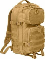 Brandit Backpack - Rugzak - Mollie system - medium - patched camel