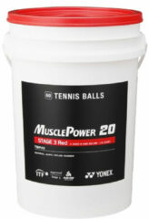 Yonex Stage 3 Tennisball - Tennisbal - 60 ball - rood