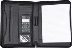 D & n Easy Business Schreibmappe mit Taschenrechner cPU Schwarz