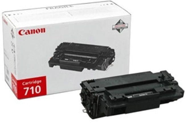 Afbeelding van Zwarte Canon 710 Tonercartridge - Zwart