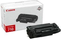 Zwarte Canon 710 Tonercartridge - Zwart
