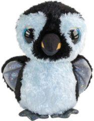 Witte Lumo Stars Penguing Ping - Classic - 15cm knuffel 15 cm
