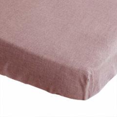 BINK Bedding Hoeslaken Bo Oudroze 70 x 150 cm