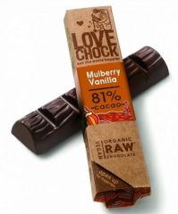 Lovechock Chocolate Bar Mulberry-Vanilla