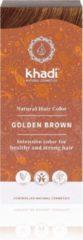 Khadi Golden Brown haarkleuring Bruin