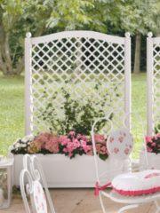 Blumenkasten und Spalier KHW grün