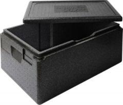 Zwarte Thermo Future Box Thermobox ( cateringbox) - 1/1 GN premium 21 cm