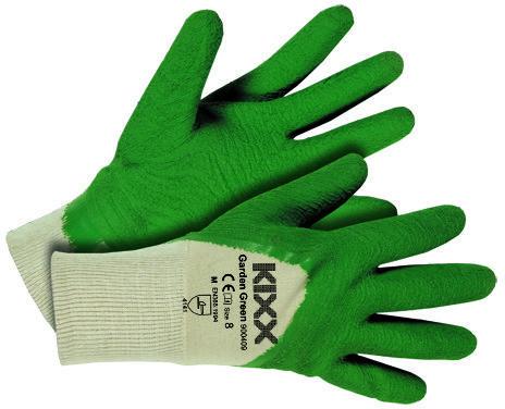 Afbeelding van Kixx Handschoenen Kixx Tuinhandschoenen - Garden groen - Maat 8