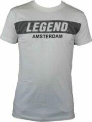 Witte Legend Sports Heren T-shirt