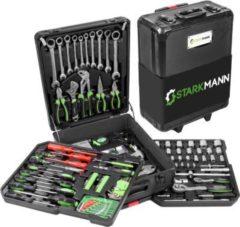 Starkmann Blackline Werkzeugkoffer 399-teilig