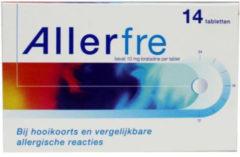 Allerfre Hooikoorts tabletten 10mg 14tab