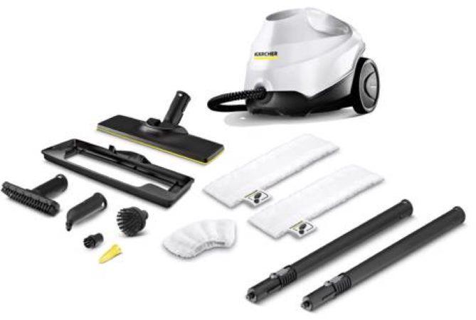 Afbeelding van Kärcher SC 2 EasyFix Premium Draagbare stoomreiniger 1l 1500W Zwart, Wit
