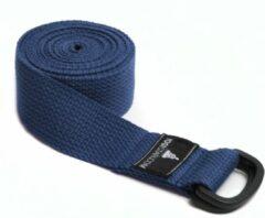 Blauwe Yoga riem yogibelt - 260P blue Yoga riem YOGISTAR