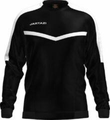 Jartazi Sportsweater Torino Heren Polyester Zwart Maat 2xl