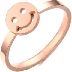 Roze Cilla Jewels edelstaal ring Smiley Rose-17mm