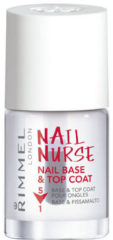 Transparante Rimmel London Nail Nurse Perfectional 5 in 1 base and topcoat - Transparent