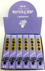 Paarse Nippon Kodo Morning Star - Lavender - Lavendel - Japanse wierook - 12-pack - Gratis Verzending!!!