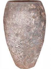 Baq Design Lava Relic Rust metal emperor hoge bloempot 57x95 cm