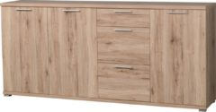 Germania Dressoir Apex 192 cm breed - Sanremo eiken
