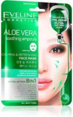 Eveline Cosmetics Aloe Vera Calming & Refreshing Face Sheet Mask