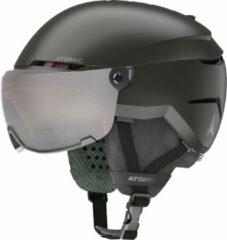 Atomic Savor Visor Jr Zwart 48-52 - Skihelm